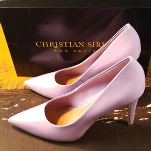 NWB Christian Siriano Purple Size 12 Heels